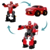 Kids Red Transforming Robot Toy Super Powered Transformers