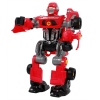 Kids Red Transforming Robot Play Set Cars & Tools Transformers