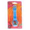 Dreamworks Trolls Girls LCD Wrist Watch Digital Style Adjustable Strap - Blue