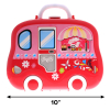 KidPlay Girls Rolling Beauty Carry Case Pretend Play Set Kids Toys Accessories