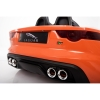 Licensed Jaguar F-Type 12V Kids Battery Powered Ride On Car Rear Close Up- Orange