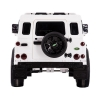Licensed Range Rover Defender 12V Kids Battery Powered Ride On Car White Rear View