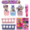 Disney Minnie Mouse Total Beauty Cosmetic Lip Gloss Eye Shadow Nail Polish Set