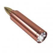 9 LED Bullet Shape Flashlight .50 Caliber On