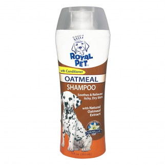 Royal Pet Dog Shampoo Natural Oatmeal with Conditioner Vanilla Scent 12oz