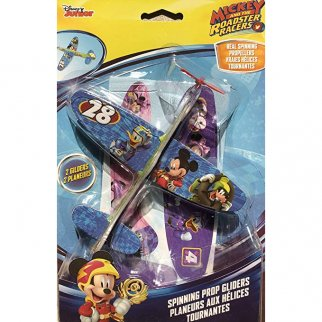 Disney Mickey Mouse and the Roadster Racers Gliders 2 Pack