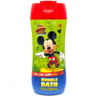 8 oz Bubble Bath Botyle Disney Mikcey Mouse Too Cool Berry