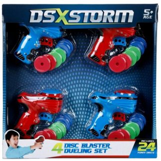 Disc Blaster Dueling Set Comes with 4 Disc Blasters