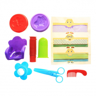 Generation Dough Hair Salon Kids Play Dough Hair Growing Styling Activity Set