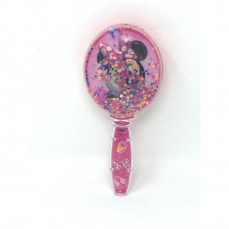 Disney Junior Minnie Mouse Glitter Shaker Hair Brush