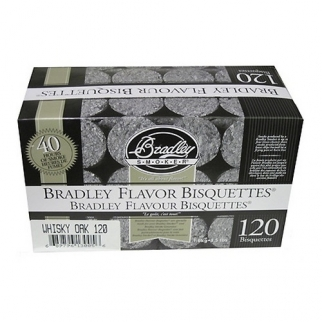 Smoker Bisquettes Whiskey Oak Special Edition, 120 Pack