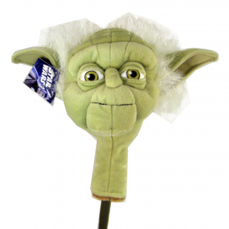 Golf Head Cover Star Wars Yoda Hybrid Putter Sporting Goods Headcover Accessory