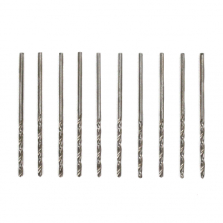 High Speed Steel Drill Bits 1/16 Inch Shank 10pc 50