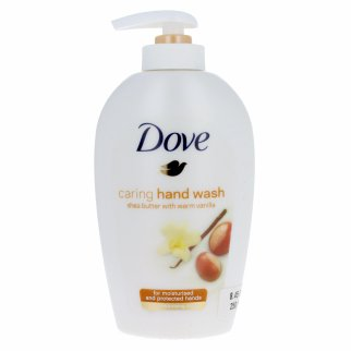 Dove Shea Butter Hand Soap 8.45oz Pump Bottle Vanilla Scent