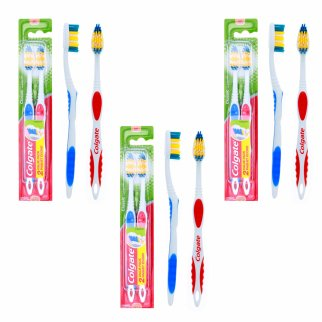 Colgate Toothbrush and Tongue Cleaner 6 Pack Soft Bristles