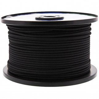 500 feet black paracord