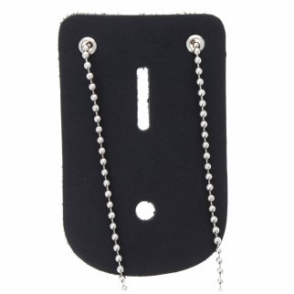 ASR Federal Law Enforcement Neck Chain Universal Badge Holder