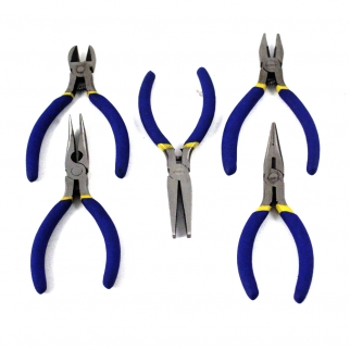 5pc Mini Precision Pliers Set