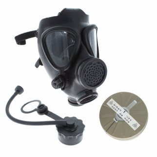 IDF M15 Gas Mask New Israeli Military, Un-Used Surplus for Survival Preppers