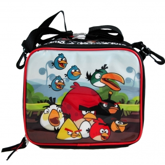 Angry Birds Black Lunch Bag