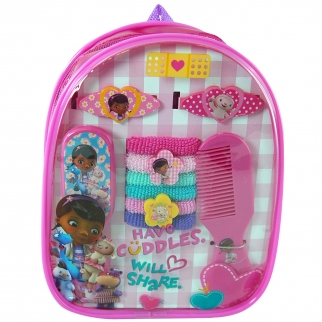 Disney Doc McStuffins Hair Accessory Backpack