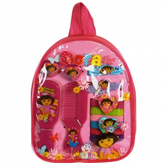 Dora the Explorer 11pc Hair Accessory Backpack