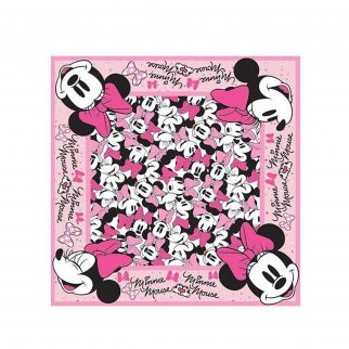 Disney Girls Comfortable Minnie Mouse Bandana Face Cover