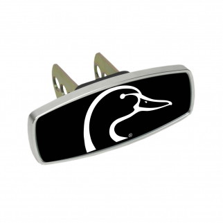 Heininger HitchMate Premier Series Hitch Cap Cover - Duck Head Black