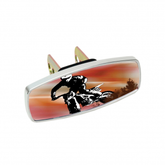 Heininger HitchMate Premier Series Hitch Cap Cover - Dirt Bike