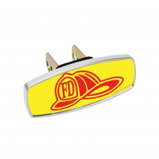 Heininger HitchMate Premier Series Hitch Cap Cover - Firemans Hat