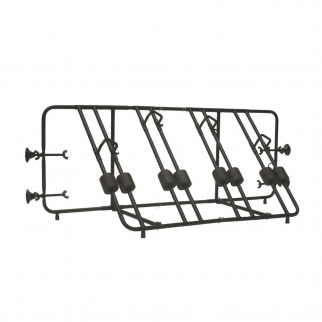 Advantage 4-Bike Automotive Truck Bed Rack Secure Outdoor Equipment Bike Carrier