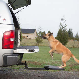 Heininger PortablePet Twistep Pet Step for Trucks