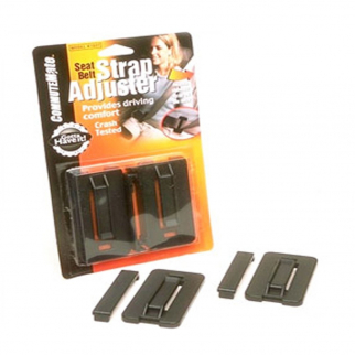 Seatbelt Strap Adjuster CommuteMate Seat Belt Clip