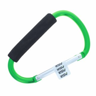 "Jumbo 6.5"" XL Carabiner Key Chain - Green"