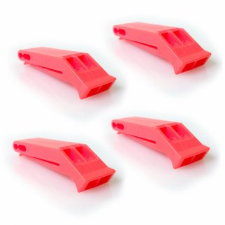 Marine Safety Floating Emergency Whistle 4 pk
