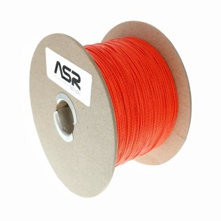 Kevlar Cord Survival Paracord Rope 200lbs Strength (Orange, 500ft)