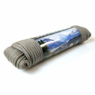 ASR Outdoor - 100 feet x .15 inch 7 Strand Paracord Bundle - Grey