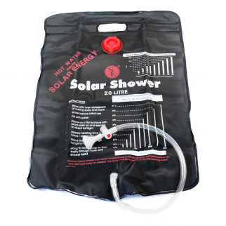 ASR Outdoor 5 Gallon Capacity Portable Travel Camping Solar Shower