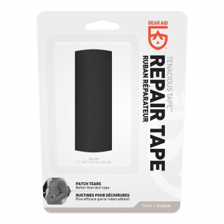 Gear Aid Tenacious Tape Ultra Strong Flexible Outdoor Fabric Repair - Black