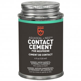 Seal Cement 4oz Neoprene Cement - Black