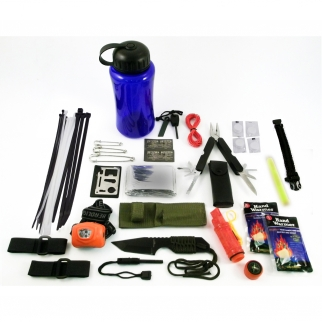 48pc emergency survival kit bug out bag