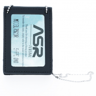 ASR Federal Law Enforcement Neck Chain Badge and ID Holder