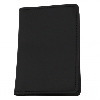ASR Federal Leather Double ID Holder - Black