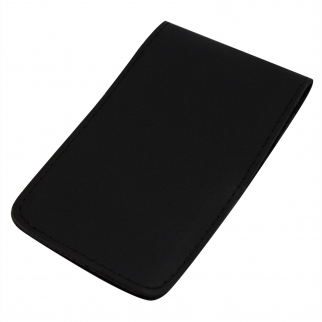 ASR Federal Leather 3x5 Standard Memo Book Cover - Plain Black