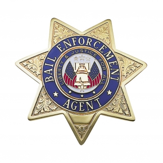 Bail Enforcement Star Badge