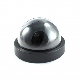 Dummy Dome Security Camera with Motion Red LED Light