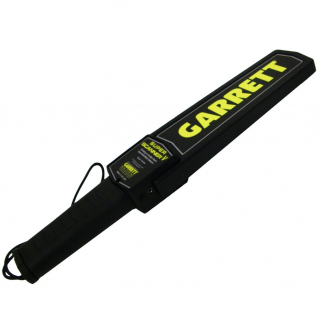 Garrett Super Scanner HandHeld Tactical Security Screening Metal Detector