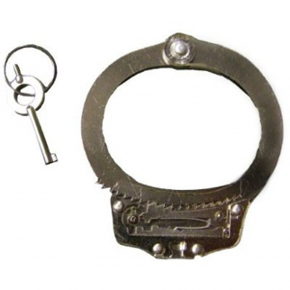Clear Cuff Lockpick Training Handcuff