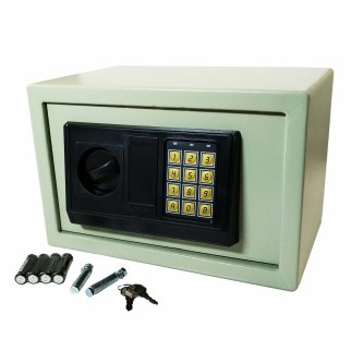 Security Digital Steel Wall Safe Box Large Electronic Keypad