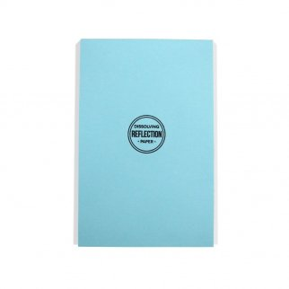 Disappearing SpyPaper 8.5 Inch x 5.5 Inch Dissolving Note Pad Letter Journal